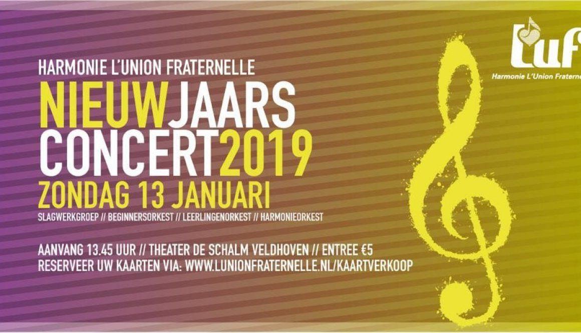 Nieuwjaarsconcert LUF 2019